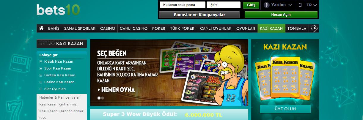 Bets10 Kazı Kazan